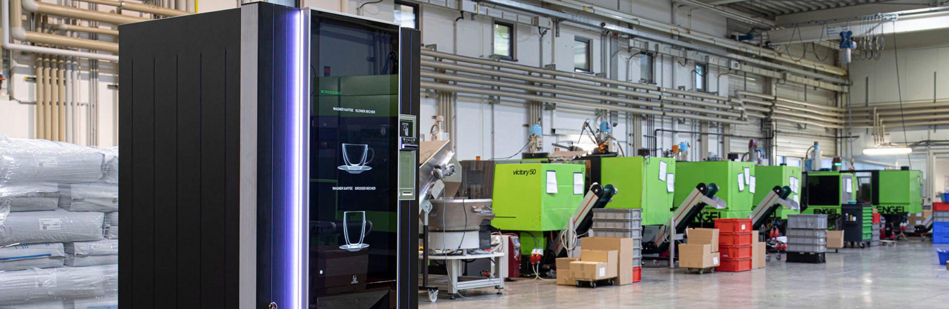 Wagner Heißgetränkeautomat in der Produktion
